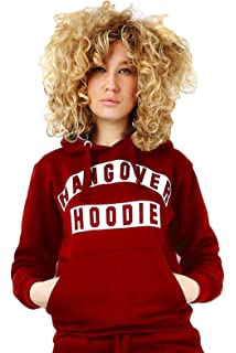 03331e90c01cf Parsa Fashions Malaika® Ladies Hangover Hoodie Fleece Long Sleeves Sweatshirt  Womens Hooded Top Jumper Plus