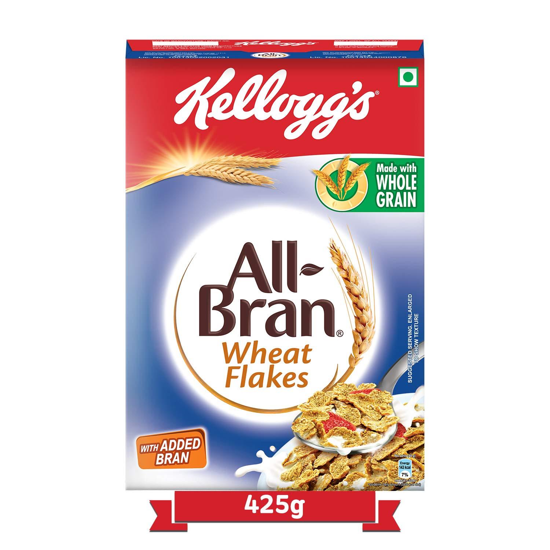Kellogg's All Bran Wheat Flakes, 425 gram