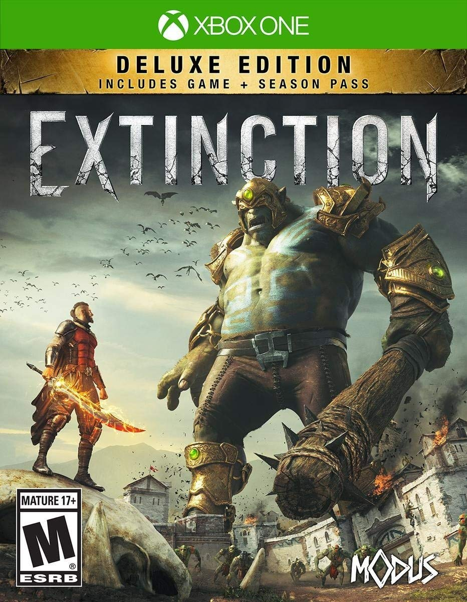 Extinction - Deluxe Edition for Xbox One [USA]: Amazon.es: Maximum ...