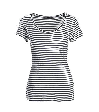 860b629bd03b51 GRETA   LUIS Damen Shirt Alina in Blau-Weiß gestreift  Amazon.de  Bekleidung