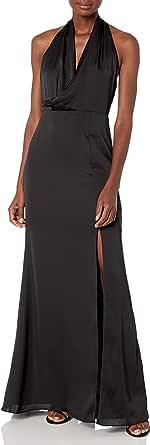 Keepsake the Label Women's Galaxy Drape Top Long Gown Dress