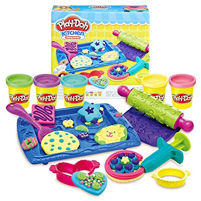 Play-Doh Sweet Shoppe Cookie Creations: Toys & Games [5Bkhe0306466]