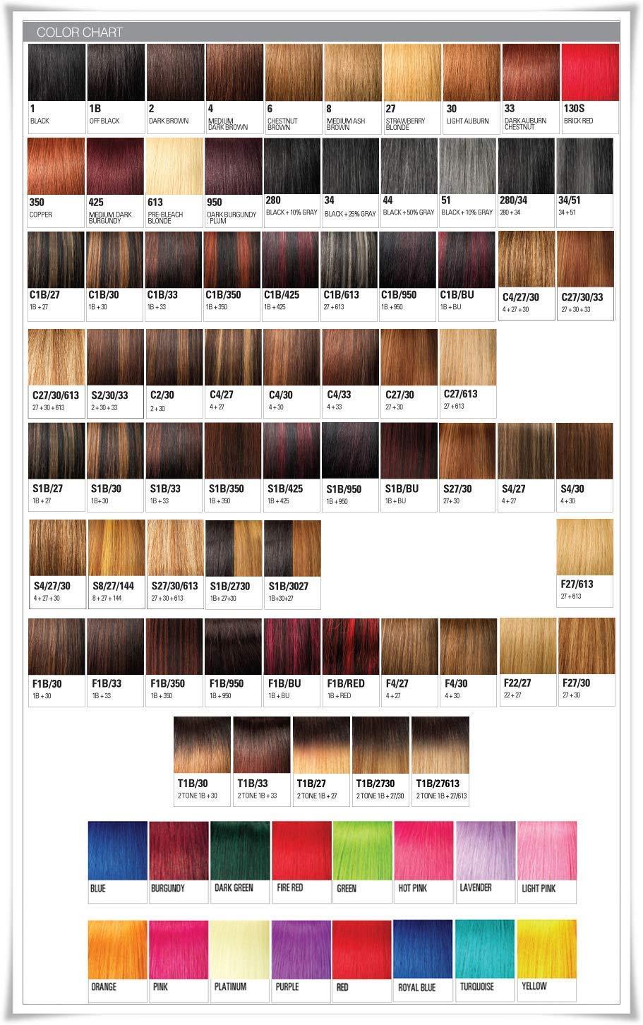X-pression Premium Original Ultra Braid. - Color 2 ( Pack of 6 )