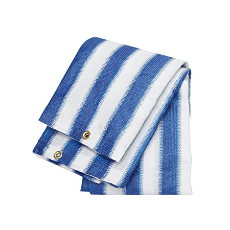 Ace Sc-10150 Shade Cloth Blue and White – 10×10