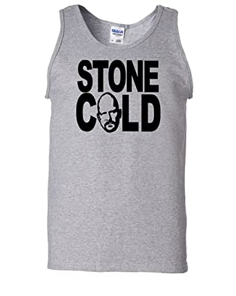 7585a65ce0b90 Steve Austin Stone Cold Tank Top WWE Wrestling Wrestler Unisex T Shirt  (Small)