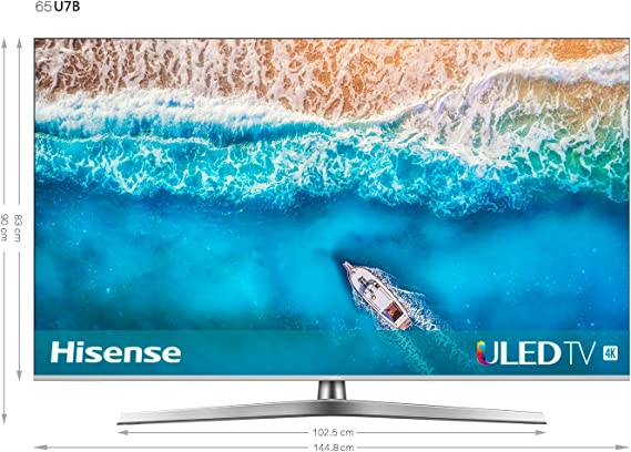 Hisense H65U7B - TV ULED 65 4K Ultra HD con Alexa Integrada, BT ...