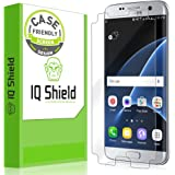 Galaxy S7 Edge Screen Protector, IQ Shield LiQuidSkin (Case Friendly) Full Coverage Screen Protector for Galaxy S7 Edge HD Clear Anti-Bubble Film - with