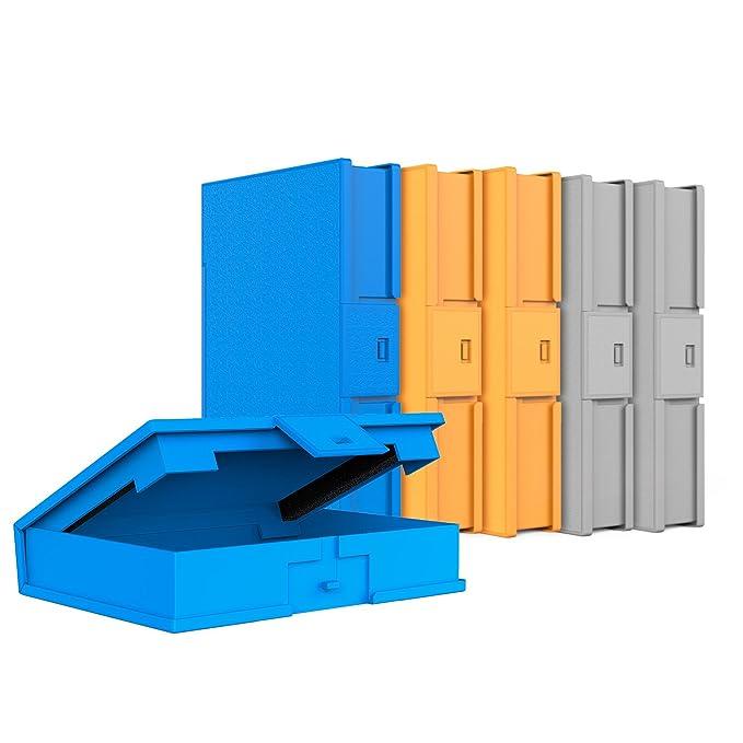 Inateck(HPFx6) Funda Caja de Almacenamiento para HDD Discos Duros 3,5