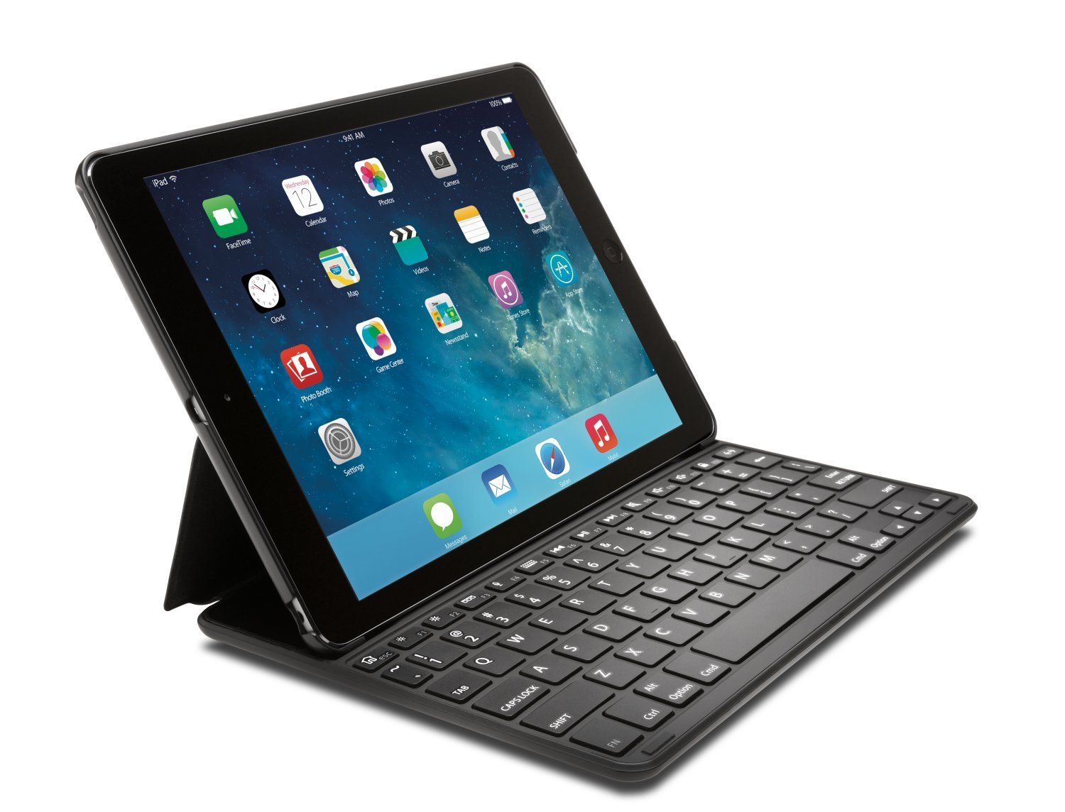 Kensington KeyFolio Thin X2 iPad Air 2 Bluetooth Keyboard Case (K97385US) by Kensington (Image #1)