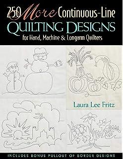250 Continuous Line Quilting Designs Laura Lee Fritz 9781571201713