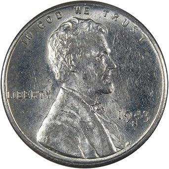"1943 S  STEEL PENNY--/""USED/"""