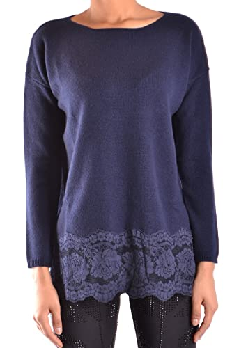 Ermanno Scervino Mujer MG38578 Azul Lana Jersey