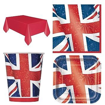 Wicked Fun British Birthday Party Celebration Union Jack