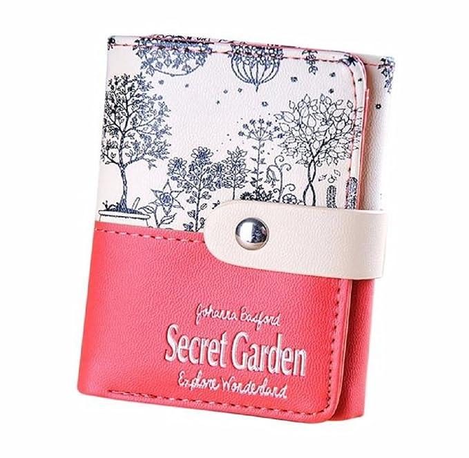 Mandy Mujer Secret Garden Monedero Corto titulares de ...