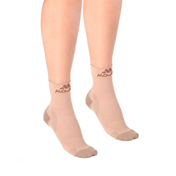 Medical & Mobility Dr Scholls Unisex Graduated Compression Support Socks Size Small Beige Color Consumers First