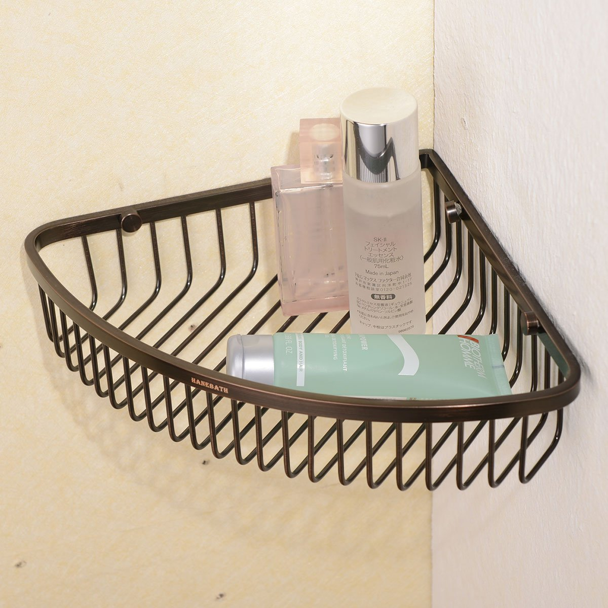 Corner Shower Caddy - Stainless Steel Bathroom Wall Mounted Storage ...