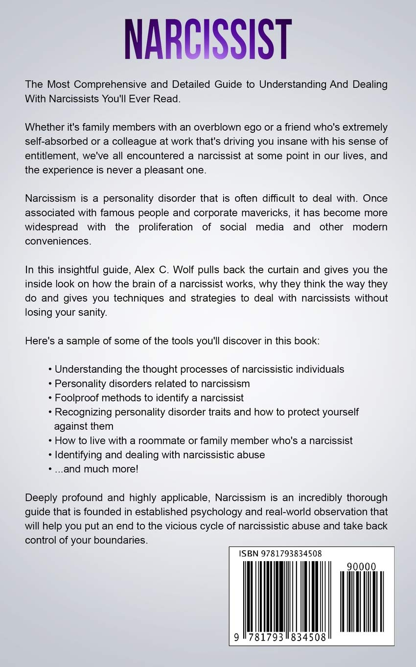 Narcissist: A Complete Effective Guide To Understanding And