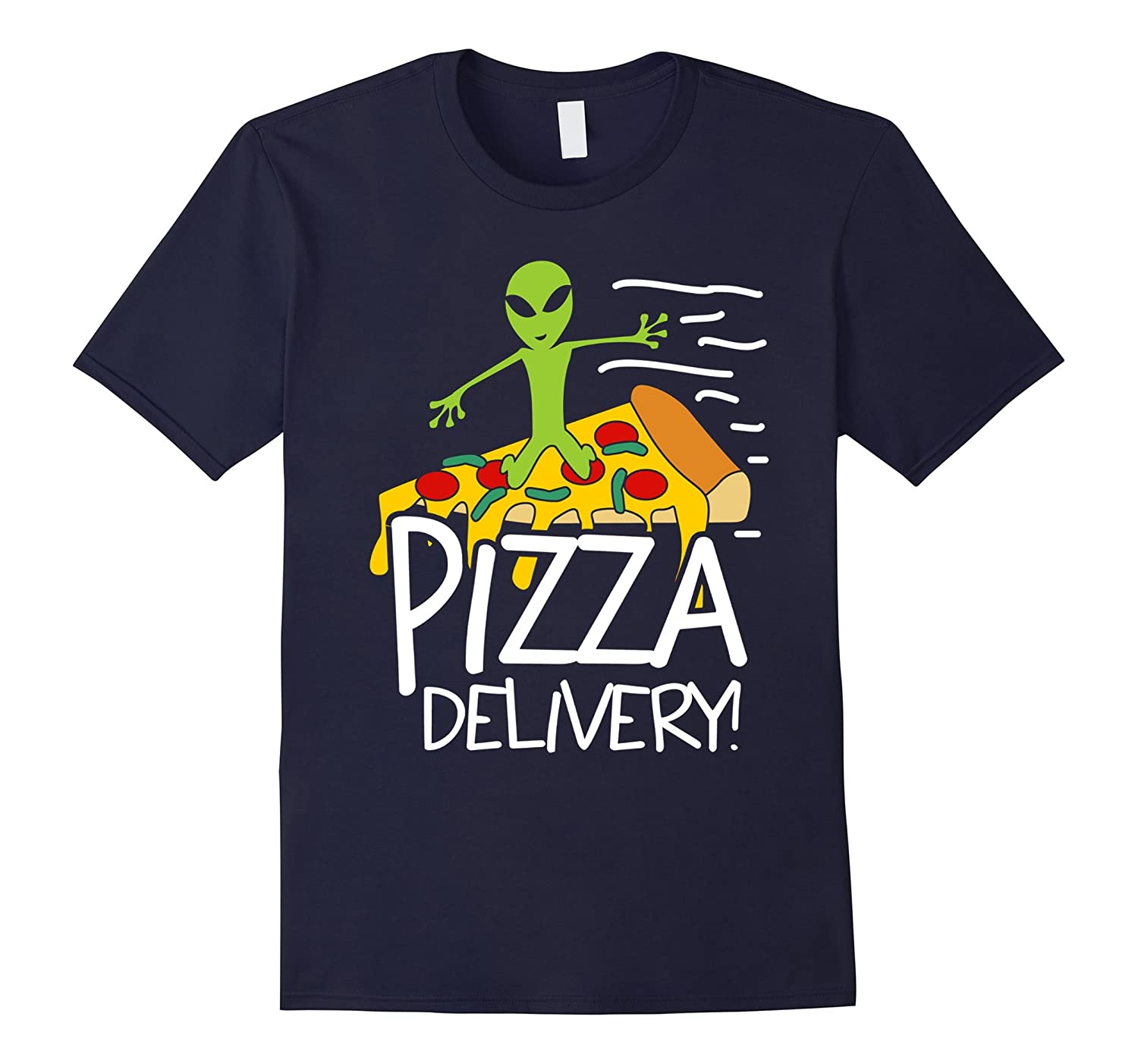 Alien Pizza Delivery Shirt-TH