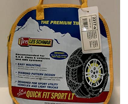 les schwab coupon tire chains