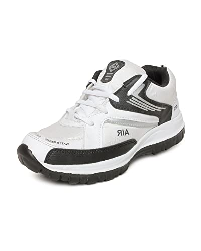 83403ff1306d5 Amco Mens Adr Air White Sports Shoes: Buy Online at Low Prices in India -  Amazon.in