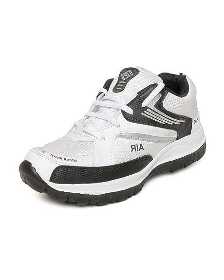 Amco Mens Adr Air White Sports Shoes