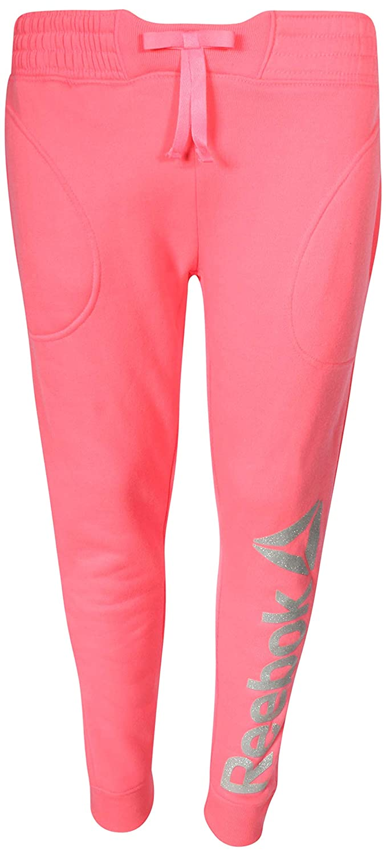 Amazon.com  Reebok Girl s Fleece Active Jogger Pants  Clothing 0046d83e0