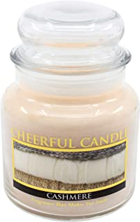 product image for A Cheerful Giver Cashmere Jar Candle, 16-Ounce, Cream (CS05)