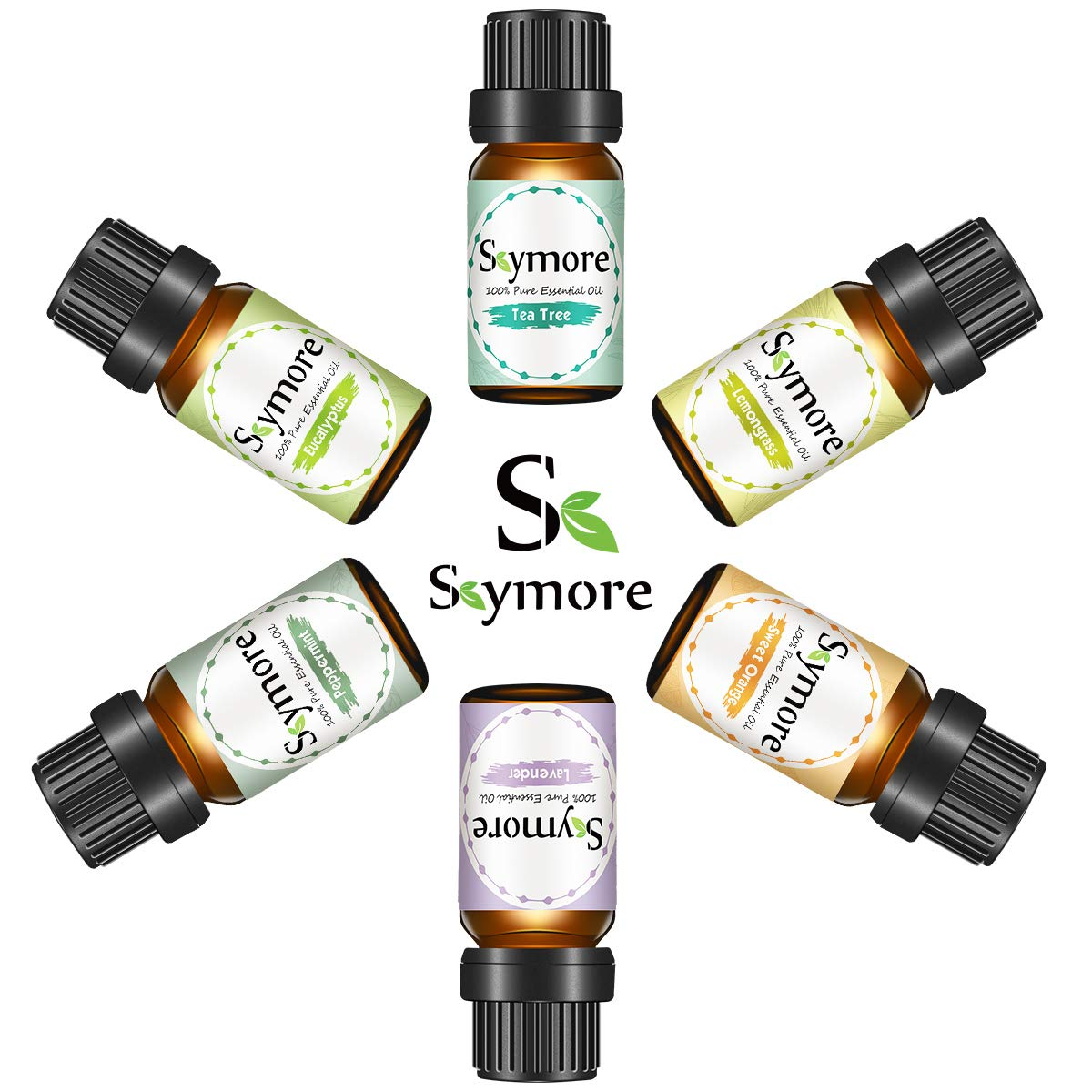 Skymore Top 6 Essential Oil Blend Gift Set best acne systems for adults
