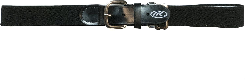 Rawlings Adjustable Baseball Belt Adult black