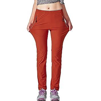 cb569f3b98a GITVIENAR Quick Dry Pants Womens Lightweight Casual Climbing Hiking Mountain  Stretch Trousers