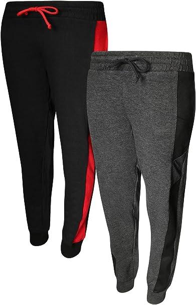 4 Pack Quad Seven Boys Active Fleece Jogger Sweatpants