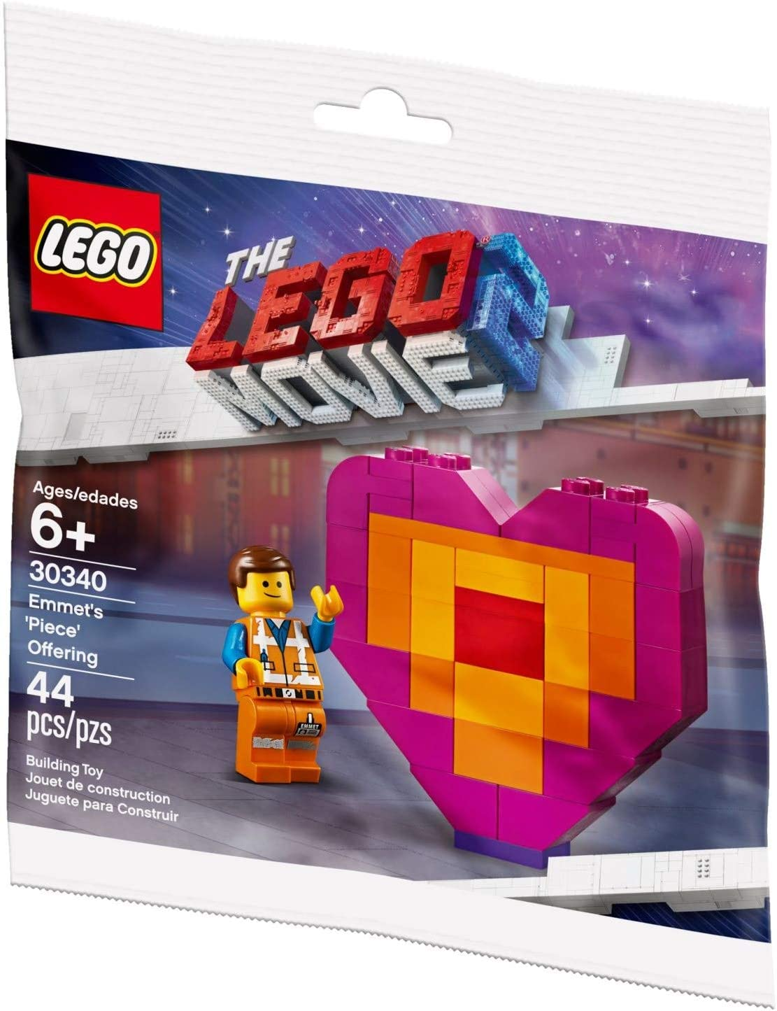 Lego Polybag 30340 The Lego Movie 2 Exclusive Emmett