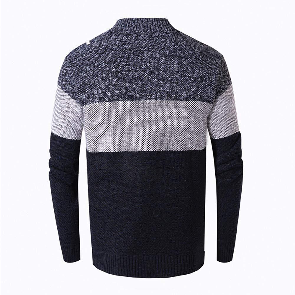 Beladla De Punto Rebeca para Hombre con Cuello Alto con Cremallera Sweater   Amazon.es  Ropa y accesorios ec1758d7f36