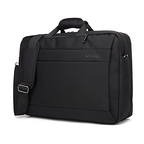 1b5208fae83f Business Laptop Messenger Bag 17-17.3 Inch Nylon Multi-Compartment  Briefcase Computers