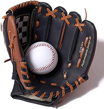 FitTrek Baseball Glove Sports Softball Glove Kid Adult and Youth Fielding Glove 9.5//10.5//11.5//12.5 in Catchers Glove Left and Right Handed Softball Fielding Mitt