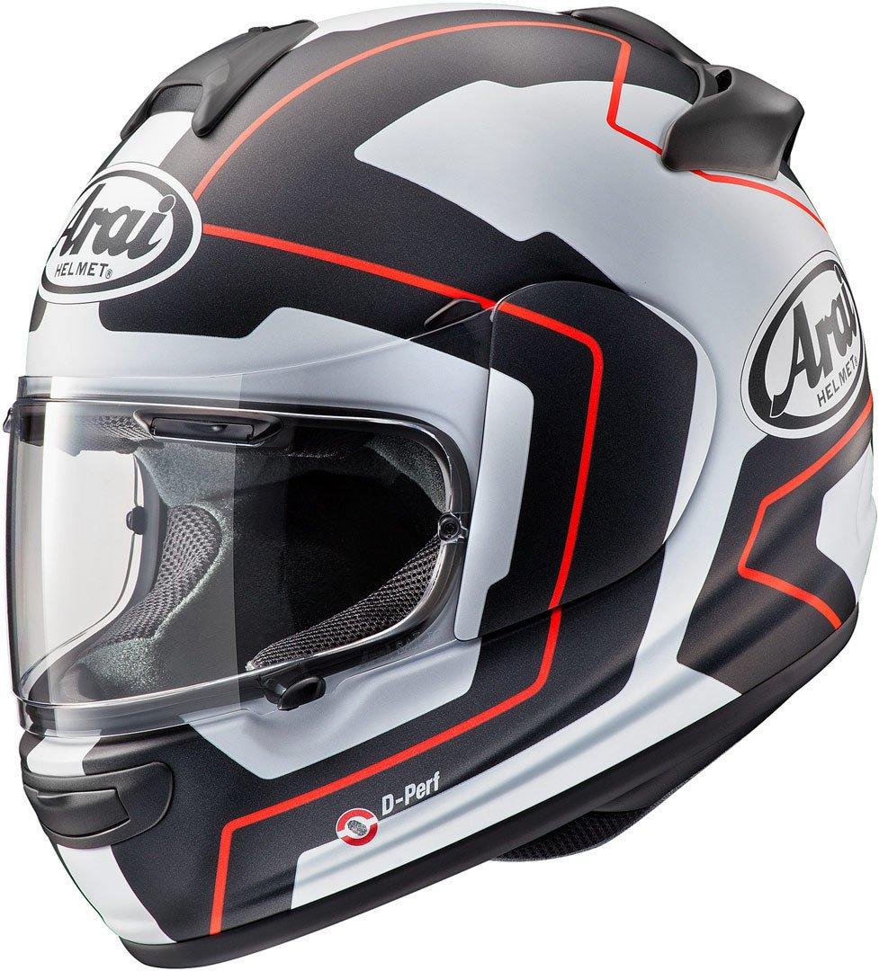 Arai Axces III 3 Sports Full Face Motorcycle Motorbike Helmet Line Blue Large