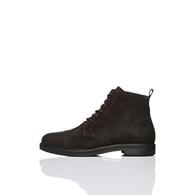 Brand - find. Men's Leather Lace up Oiled Suede Boot: Shoes