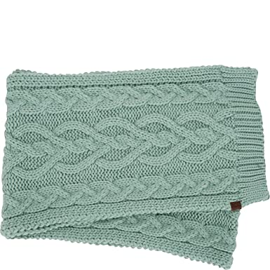 6b96ece4f78 Keds Cable Knit Scarf (Chinios Green) at Amazon Women s Clothing store
