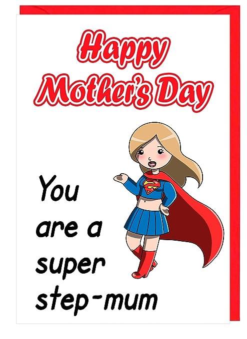 Diseño de Super Hero de la madre día Tarjeta de felicitación ...