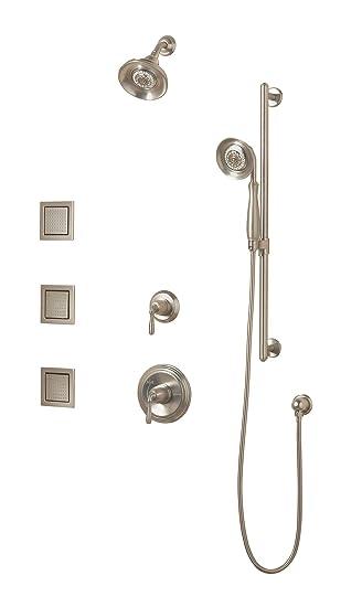KOHLER K 10855 4 BN Devonshire Luxury Performance Showering Package,  Vibrant Brushed