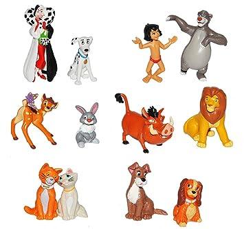 Amazondeunbekannt 1 Paar Figuren Sammelfiguren Disney Tiere