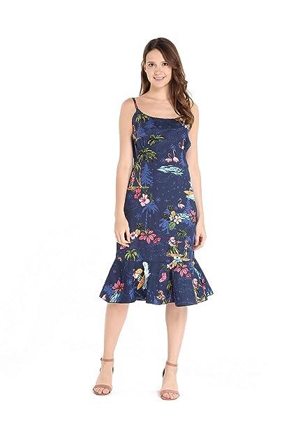 Amazon.com: Hawaii Hangover - Vestido de sirena hawaiano ...