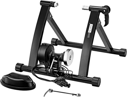LINGS Bike Front Wheel Riser Block Non Slip Resistance Indoor Bicycle Bike Trainer Exercise Stand Training Cycling