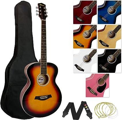 Tiger ACG2-SB - Pack de guitarra acústica, diseño degradado: Amazon.es: Instrumentos musicales