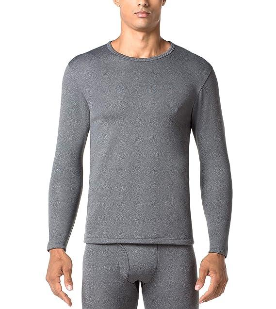 8117c33b2d84 LAPASA Uomo Set Termico Invernale Ad Alta Densità Completo Termico T-Shirt  Maniche Lunghe