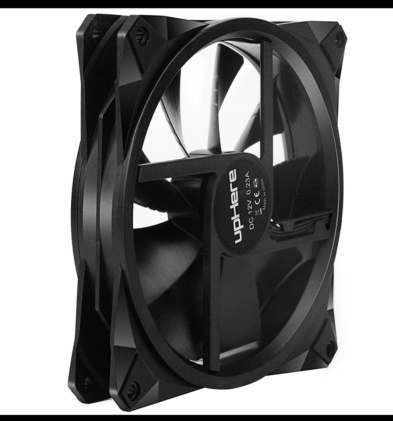 F03 upHere Couleur LED Ventilateur pour Bo/îtier DOrdinateur 120mm Silencieux CPU Dissipateur Pack Triple