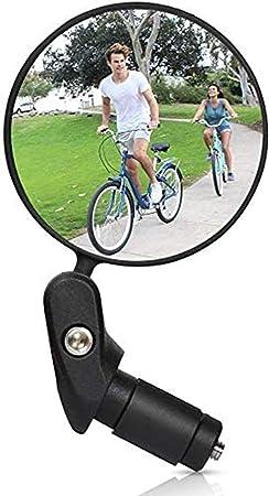 Bike Rear View Mirror Road Mountain Cycling Bike Handlebar 360° Rotatable Safe