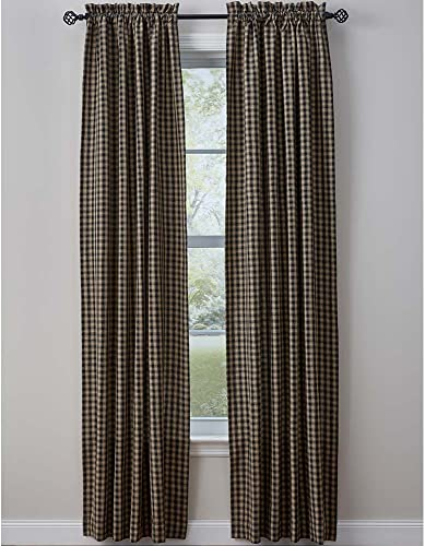 Town and Country Black Drapery Panels