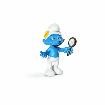 SCHLEICH Vanity Smurf Movie Toy Figure: Schleich: Toys & Games