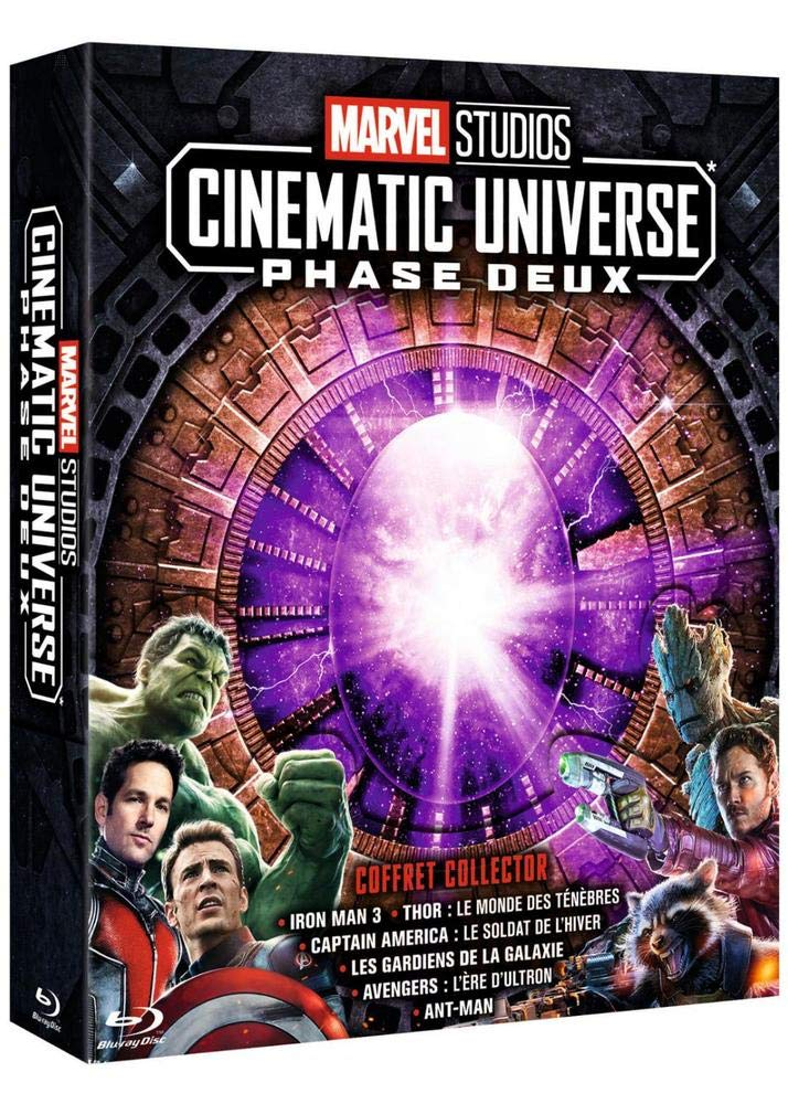 Marvel Studios Cinematic Universe : Phase 2 - 6 films [Francia] [Blu-ray]